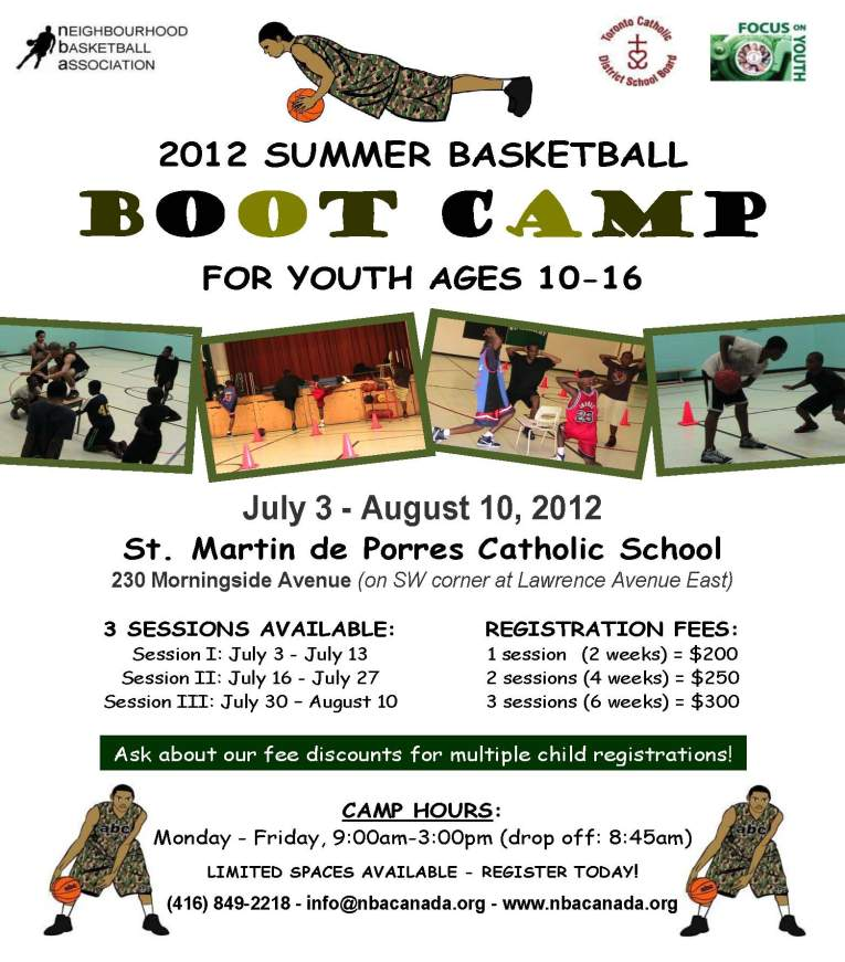 boot camp flyer 2012