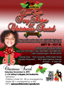 SYT Toy - Book Drive flyer w Social details